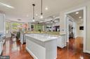 Kitchen Open to Family/Great Room - 11201 BLUFFS VW, SPOTSYLVANIA