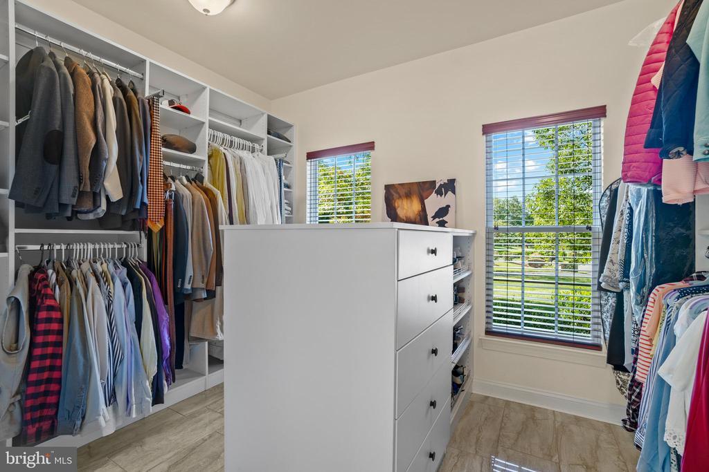 Walk In Closet Provides for Maximum Organization - 11201 BLUFFS VW, SPOTSYLVANIA