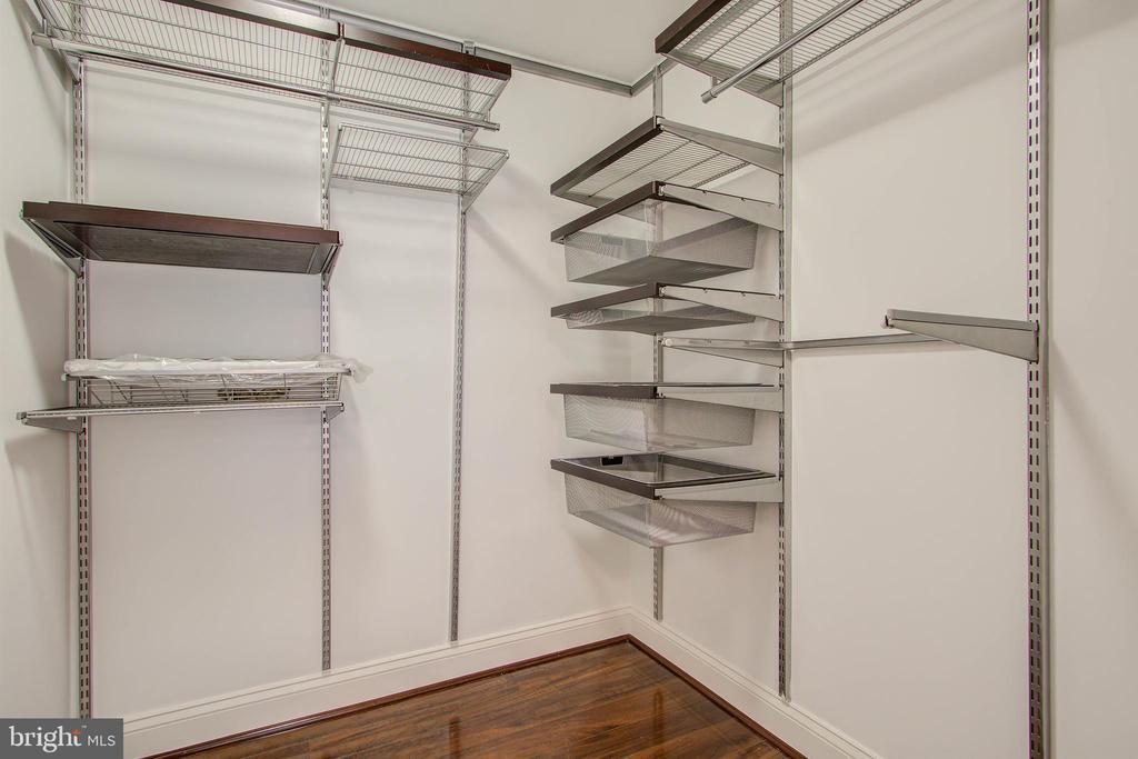 Walk-in closet - 525 N FAYETTE ST #222, ALEXANDRIA