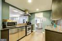 Full kitchen in party room - 525 N FAYETTE ST #222, ALEXANDRIA