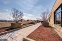 Rooftop terrace - 525 N FAYETTE ST #222, ALEXANDRIA