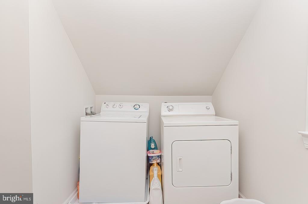 Laundry area - 296 MANASSAS DR, MANASSAS PARK