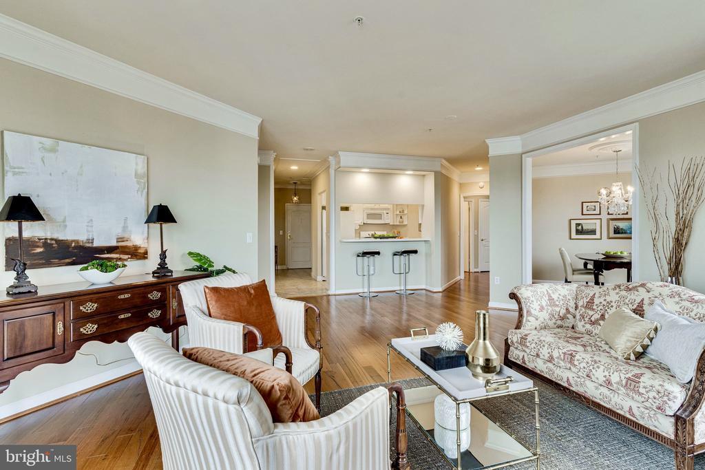 Open floor plan - 901 N MONROE ST #1501, ARLINGTON