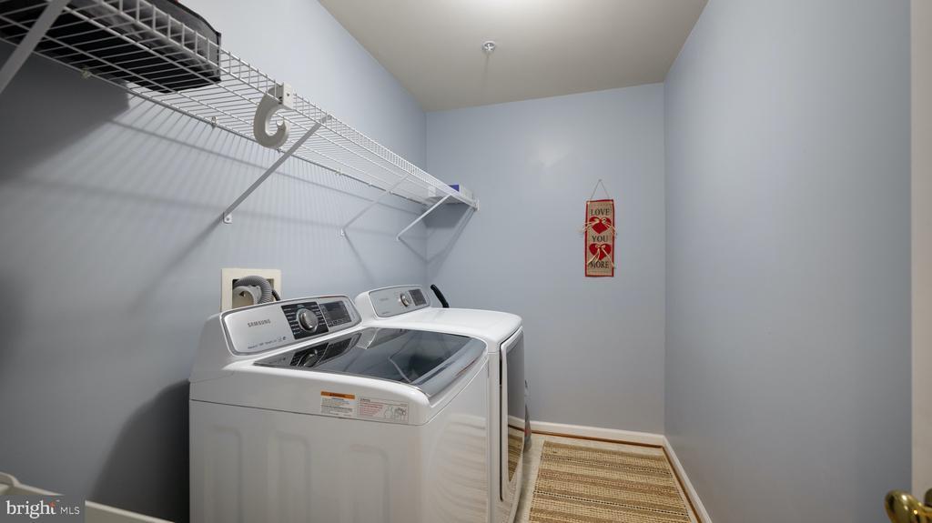 Upper level laundry room - 12712 PIEDMONT TRAIL RD, CLARKSBURG