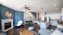 Family room - 12712 PIEDMONT TRAIL RD, CLARKSBURG