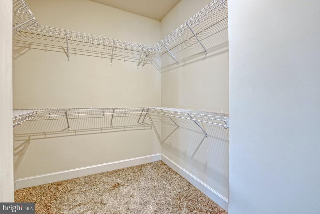walk-in closet - 15281 CARTERSVILLE CT, HAYMARKET