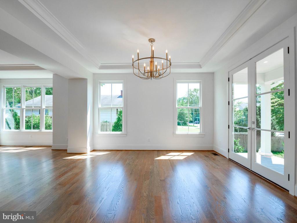Oversize windows and custom trim everywhere - 635 FREDERICK ST SW, VIENNA