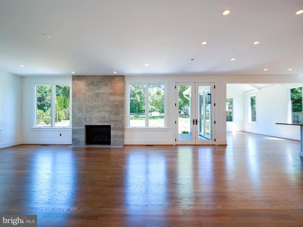 This one shows the family room plus sun room - 635 FREDERICK ST SW, VIENNA