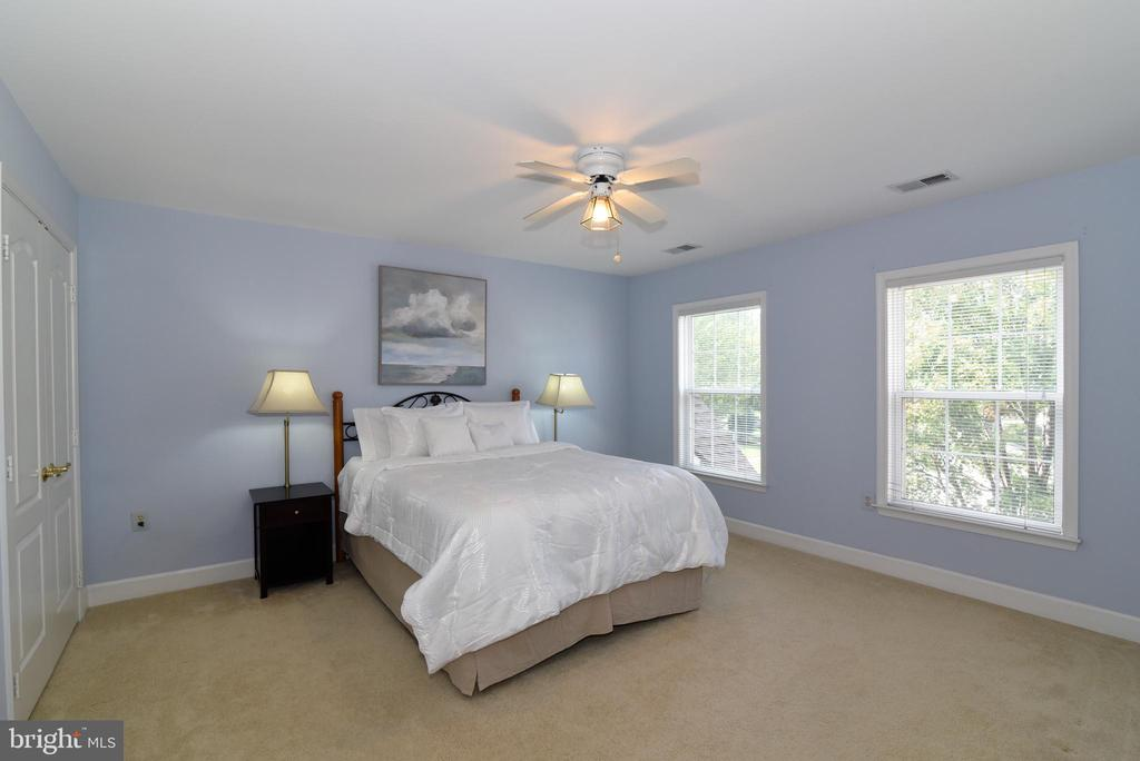 Bedroom One with two extra-deep closets - 21320 COMUS CT, ASHBURN