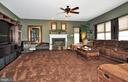 Huge Family room with Bump Out and gas fireplace! - 15305 LIONS DEN RD, BURTONSVILLE