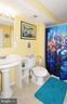 Lower level full bath. - 15305 LIONS DEN RD, BURTONSVILLE