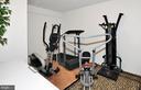 Lower level exercise room. - 15305 LIONS DEN RD, BURTONSVILLE