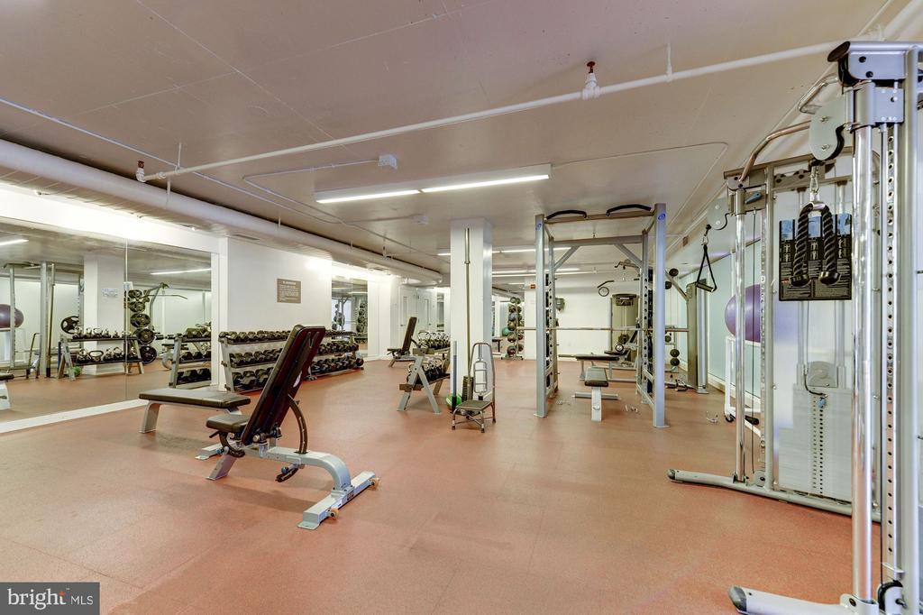 Large fitness center - 1600 N OAK ST #310, ARLINGTON