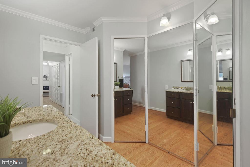 Dressing area. Tons of closet space - 1600 N OAK ST #310, ARLINGTON