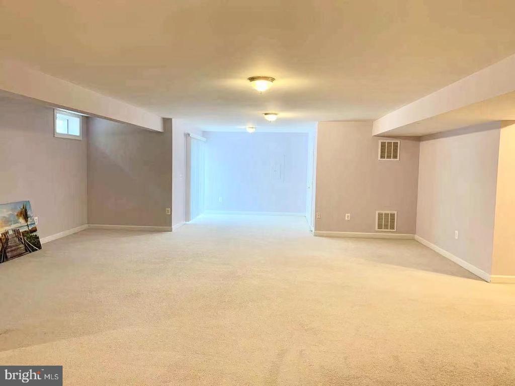 Large walk out basement - 18494 QUANTICO GATEWAY DR, TRIANGLE