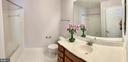 Hallway bathroom - 18494 QUANTICO GATEWAY DR, TRIANGLE