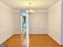 Dining room - 18494 QUANTICO GATEWAY DR, TRIANGLE