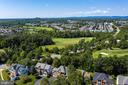 Home backs to 10th Green! Winter views of green! - 25891 MCKINZIE LN, CHANTILLY