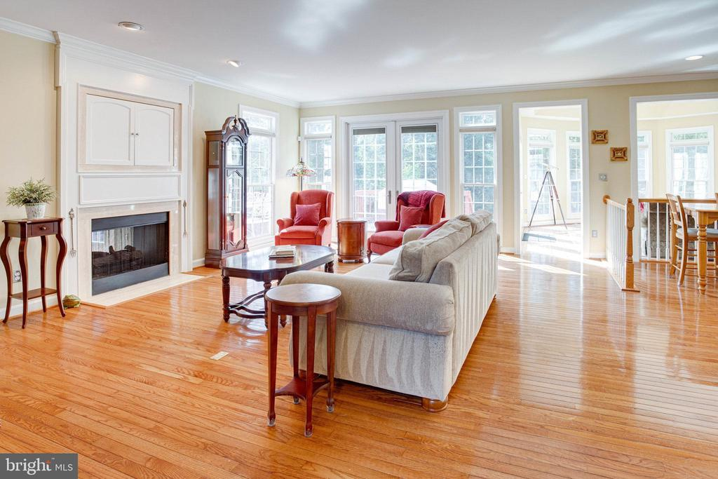 View of Family Room - 25891 MCKINZIE LN, CHANTILLY