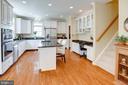 CLoser view of Kitchen - 25891 MCKINZIE LN, CHANTILLY