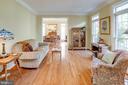 Formal Living Room - 25891 MCKINZIE LN, CHANTILLY