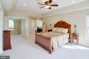 Master Bedroom from Sitting Area - 25891 MCKINZIE LN, CHANTILLY