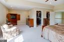View of Master Sitting Room and Walk-in closets - 25891 MCKINZIE LN, CHANTILLY