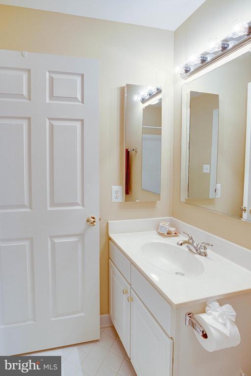 Upper Level Hall Bath vanity - 25891 MCKINZIE LN, CHANTILLY