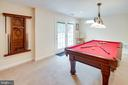 Walk-out Level french doors in Billiard area - 25891 MCKINZIE LN, CHANTILLY