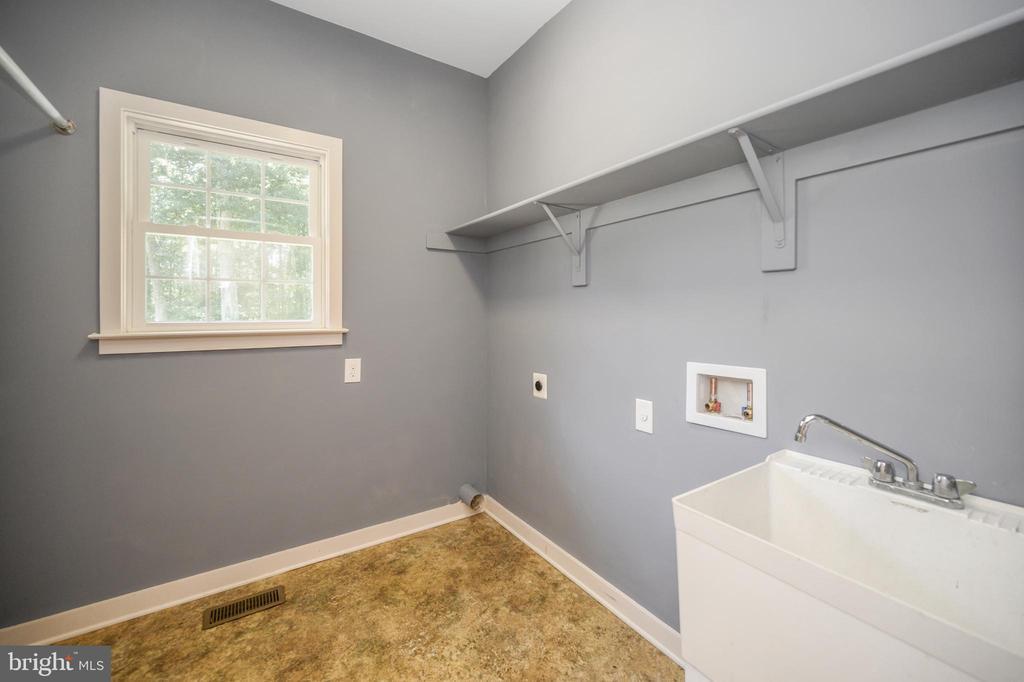 Laundry room on main level - 12812 ORANGE PLANK RD, LOCUST GROVE