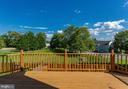 Gorgeous Deck Overlooks Common Space - 100 MOSER CIR, THURMONT