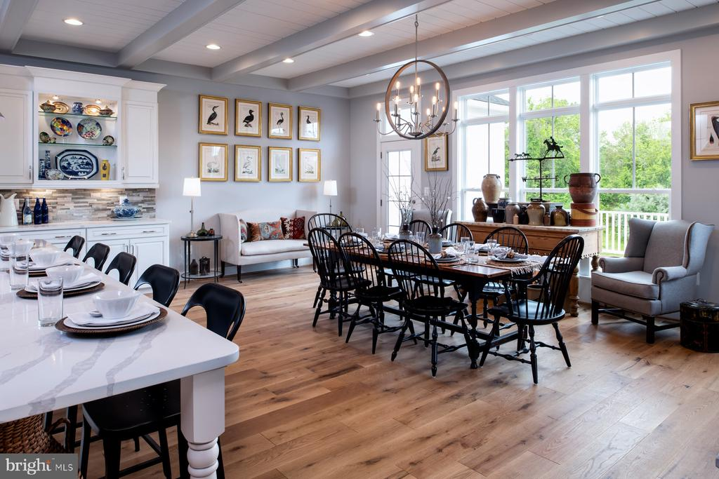 Farmhouse kitchen - shown with options - 17711 AIRMONT RD, ROUND HILL