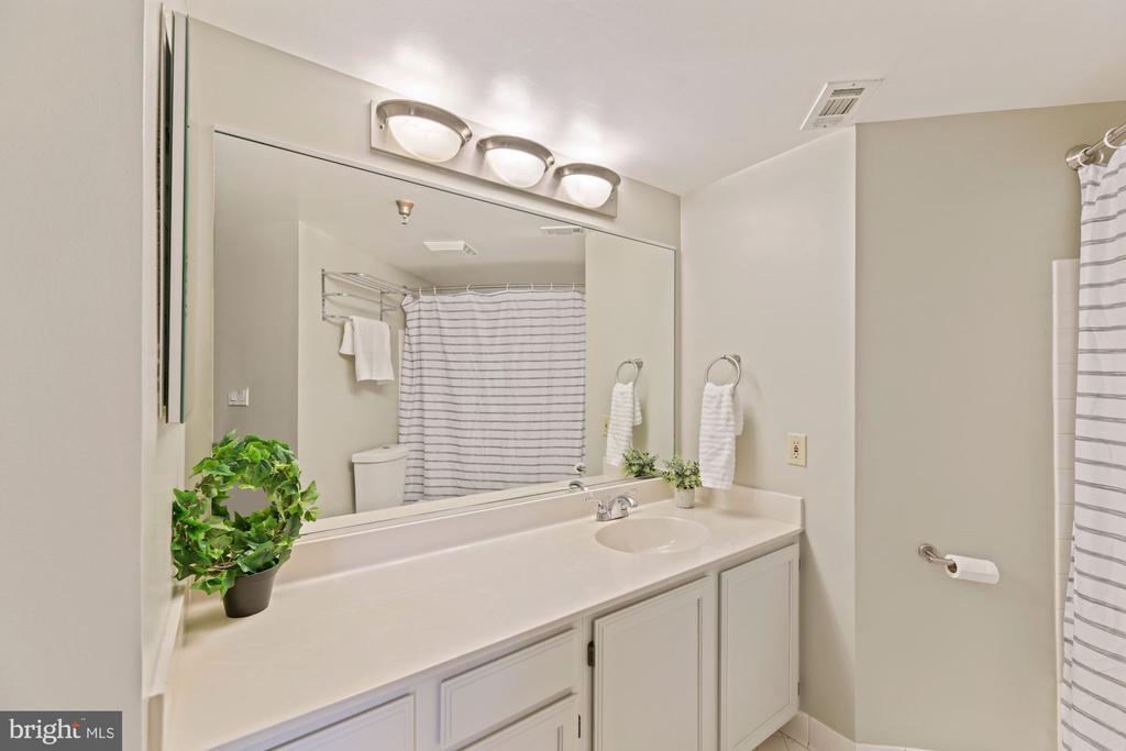 Primary bath - 2400 CLARENDON BLVD #505, ARLINGTON