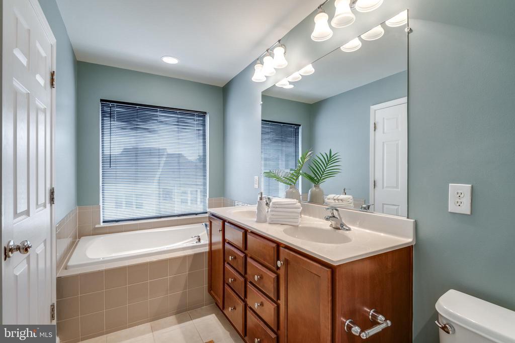 En-Suite Luxury Owners Bath w/Double Sink Vanity - 42660 NEW DAWN TER, BRAMBLETON