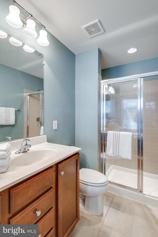 Tiled Walk-In Shower - 42660 NEW DAWN TER, BRAMBLETON