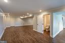Lower Level with LVT Flooring - 348 RUDDER ROAD, SHEPHERDSTOWN
