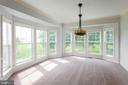 Two Large Bay Windows in Dining Room - 348 RUDDER ROAD, SHEPHERDSTOWN
