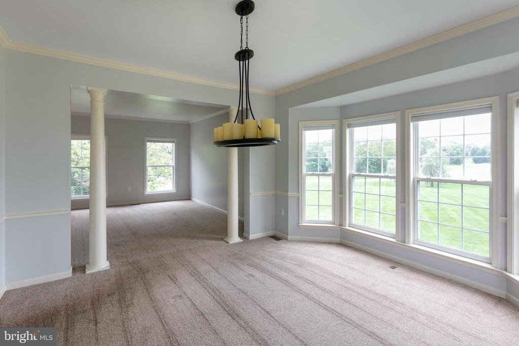 Formal Dining Room Open to Additional Living space - 348 RUDDER ROAD, SHEPHERDSTOWN