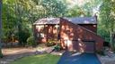 Aerial view of front of house - 10722 CROSS SCHOOL RD, RESTON
