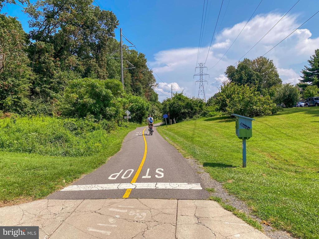 W & OD trail off of Sunrise Valley Drive - 10722 CROSS SCHOOL RD, RESTON
