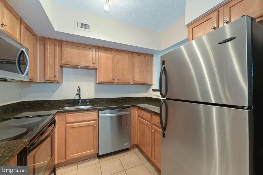 Kitchen - Loads of Cabinets for Your Storage Needs - 1001 N RANDOLPH ST #604, ARLINGTON