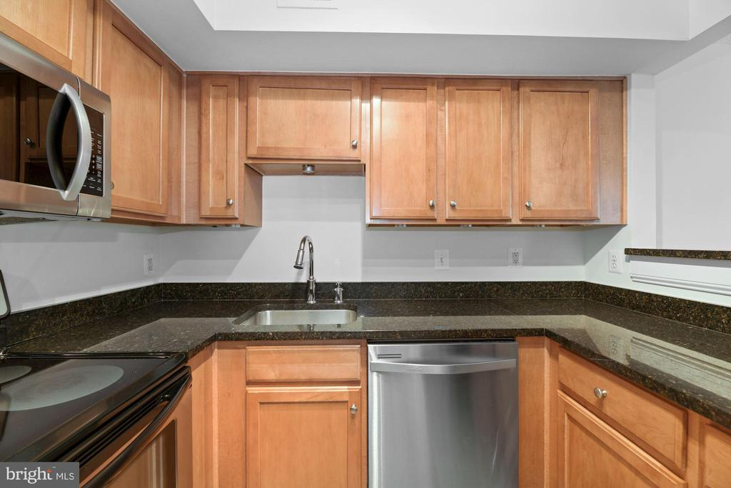 Kitchen has Lots of Counter Top Meal Prep Space! - 1001 N RANDOLPH ST #604, ARLINGTON