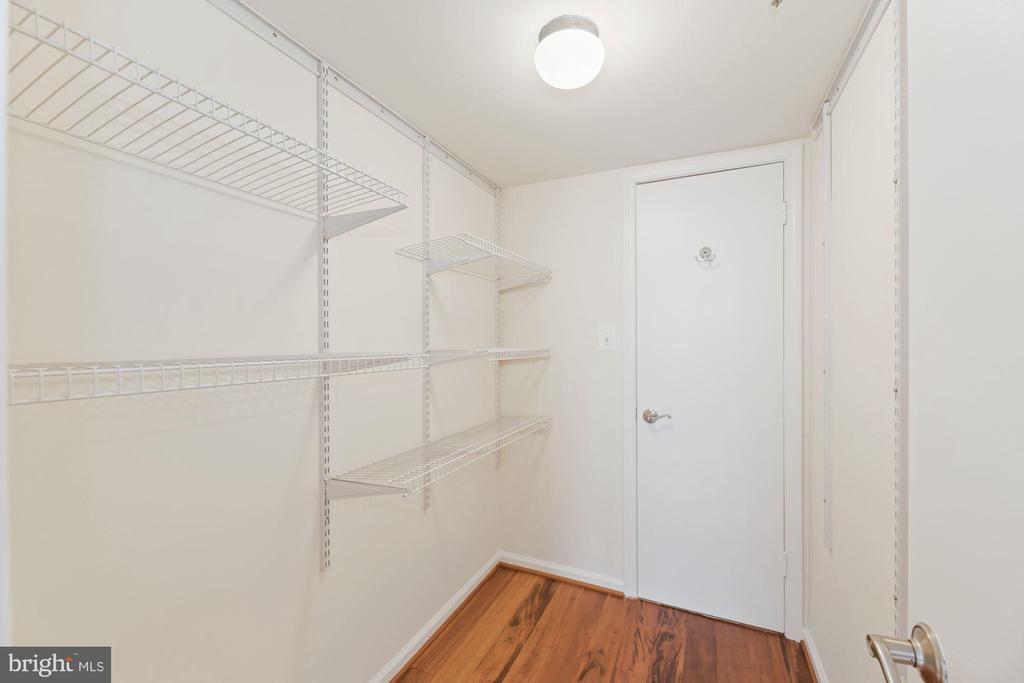 Customizable Walk-In Closet! - 1001 N RANDOLPH ST #604, ARLINGTON