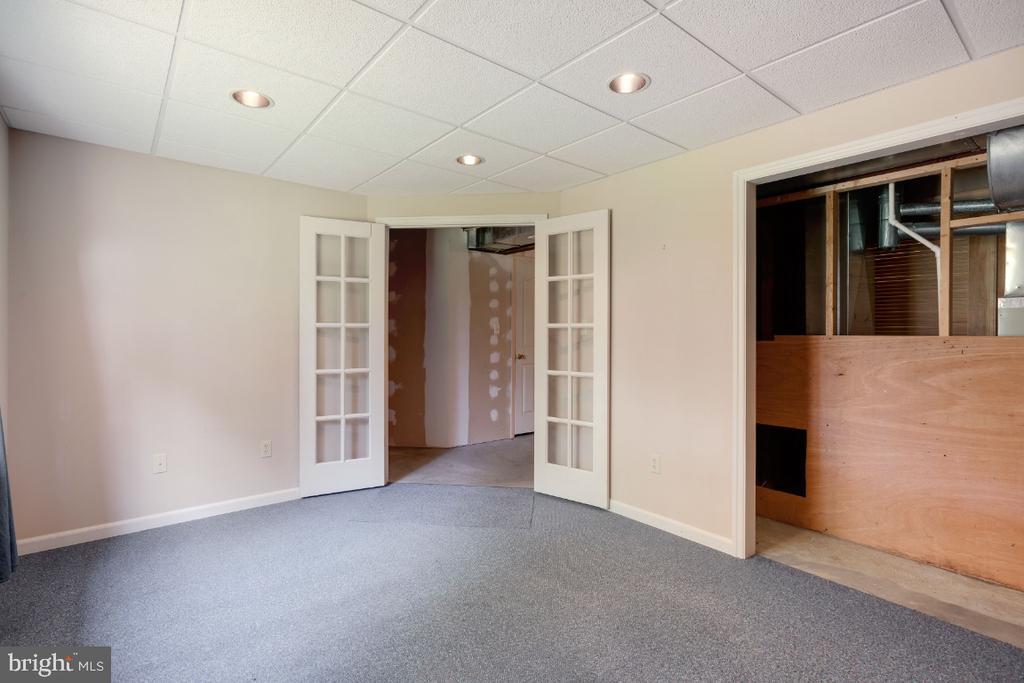 5th Bedroom / Den in Basement. - 513 EWELL CT, BERRYVILLE