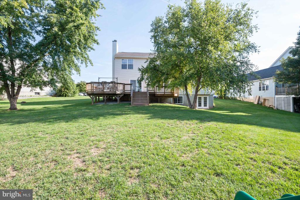 Rear View of The Home! - 513 EWELL CT, BERRYVILLE