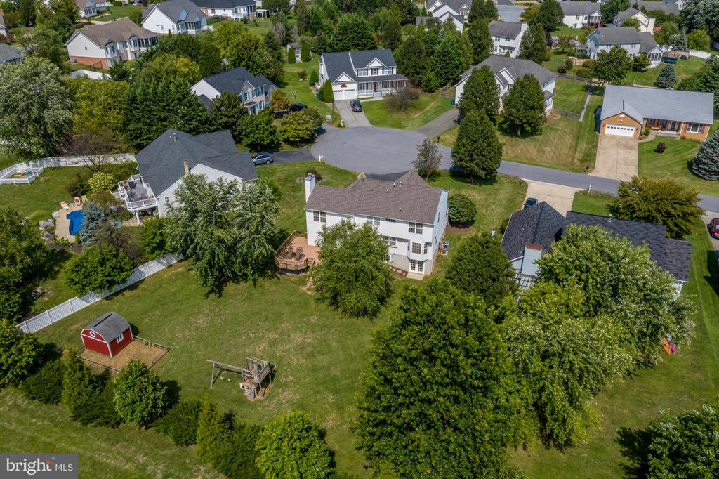 Aerial View of the Home & Lot! - 513 EWELL CT, BERRYVILLE