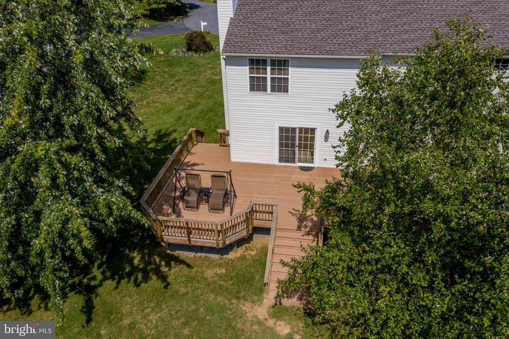 Aerial View of The Deck! - 513 EWELL CT, BERRYVILLE