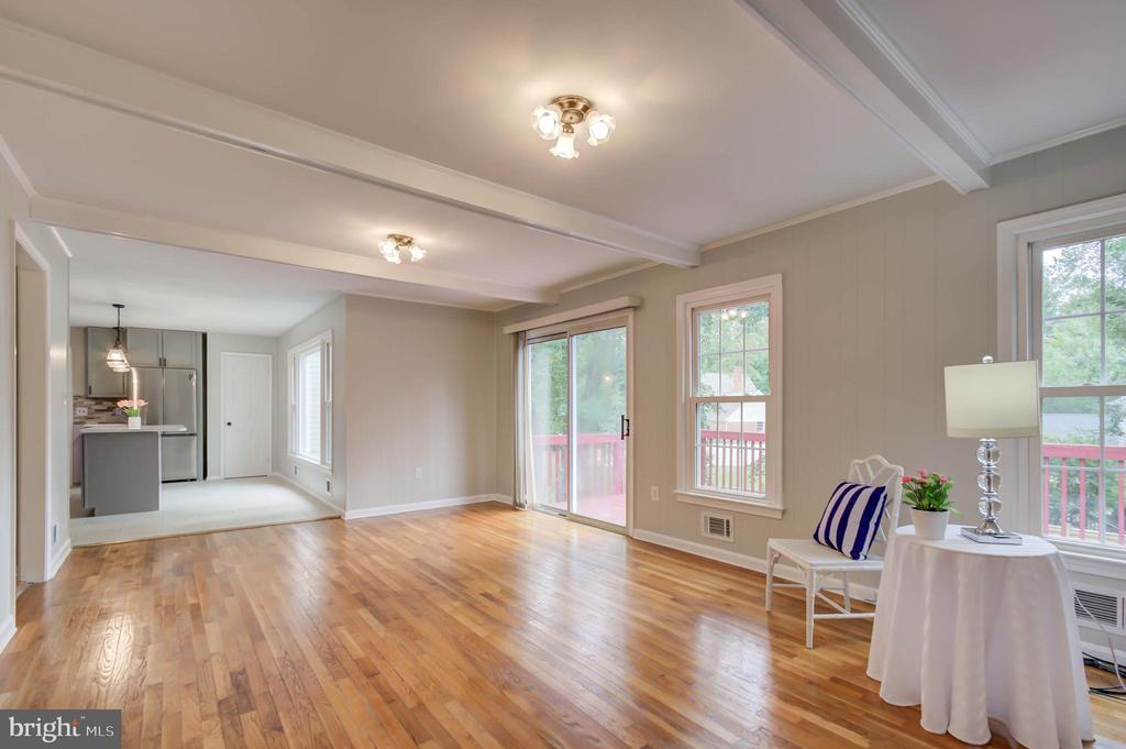 Family room is full of natural bright light - 13832 TURNMORE RD, SILVER SPRING