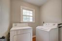First Laundry room on the main level - 13832 TURNMORE RD, SILVER SPRING