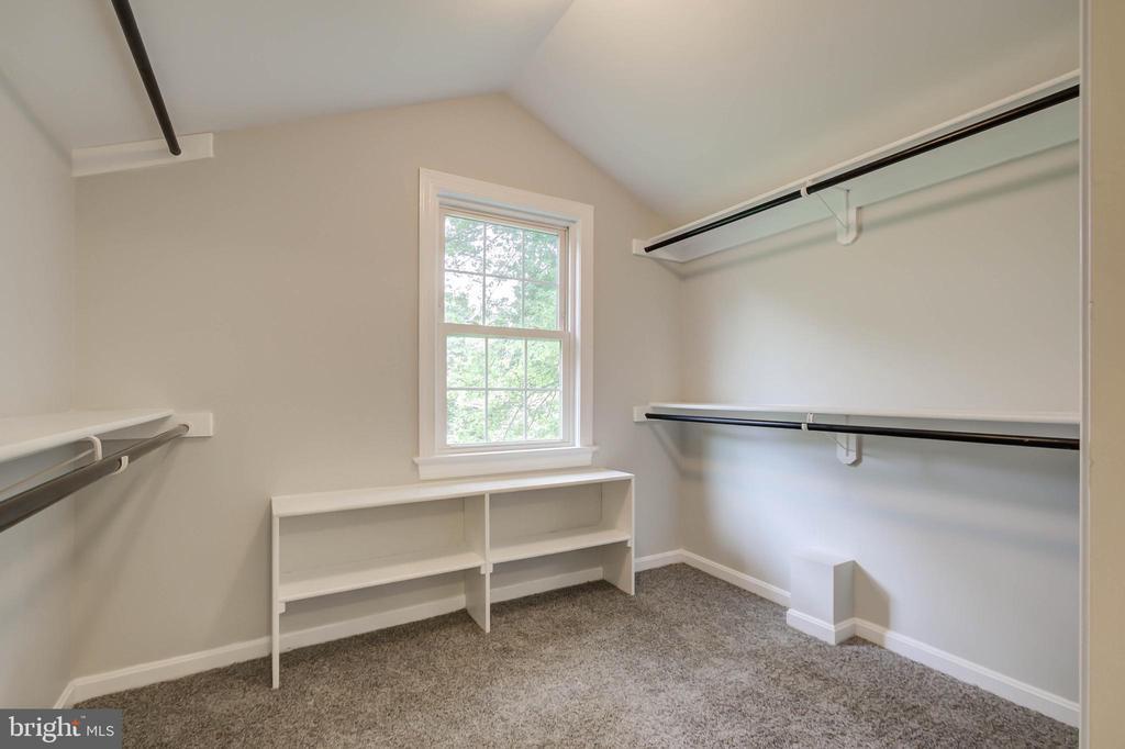Large walk-in closet - 13832 TURNMORE RD, SILVER SPRING